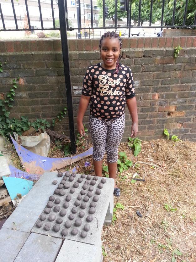 burgess park seed bombs